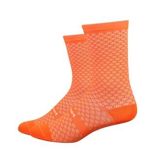 """DeFeet Evo Mont Ventoux 6"""" Sokker Oransje, Maksimal komfort!"""