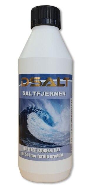 DSALT Saltfjerner Konsentrat 500ml, Gir 50L saltfjerner