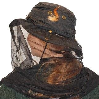 Eagle Myggnät för huvudet Brun