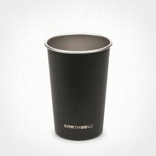 Earthwell 16 oz Pint Cup Kopp Volcanic Black