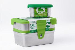 ECOlunchbox 3-in-1 Splash Box Läcksäkra matlådor