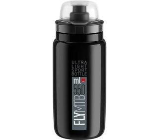 Elite Fly MTB 550 ml Flaska Svart, 550 ml