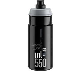 Elite Jet 550 ml flaska Svart, 550 ml