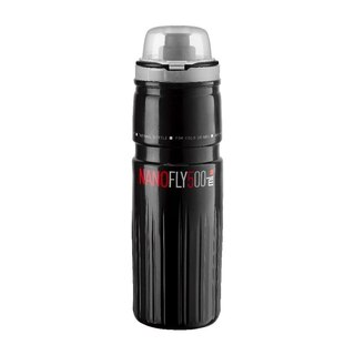 Elite Thermal Nano Fly 500 ml Flaske Sort, 500 ml