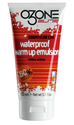 Elite Ozone Warm Up Varmekrem 150 ml, Forbedret varmeeffekt!