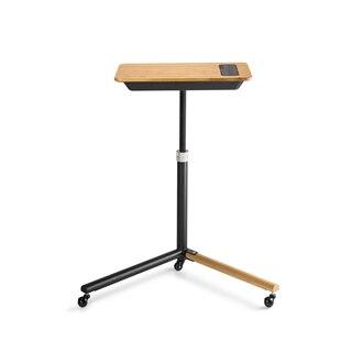 Elite Training Desk Bambu/stål, justerbar höjd