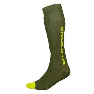 Endura Singeltrack Beskyttelses Sokker Grønn