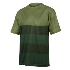 Endura SingleTrack Core T-skjorte Oliven, Str. S