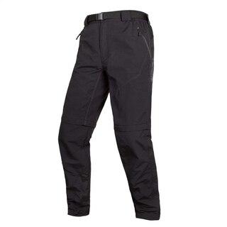 Endura Hummvee Zip-Off Bukse II Sort, kan konverteres til shorts!