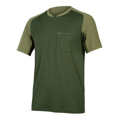 Endura GV500 Foyle T-Skjorte Oliven, Str. M