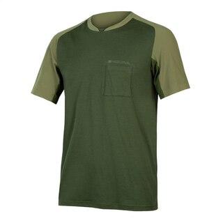 Endura GV500 Foyle T-Skjorte Oliven, Str. S