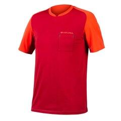 Endura GV500 Foyle T-Skjorte Rust Red, Str. S