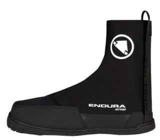 Endura MT500 Plus II Skotrekk Sort, Til sko med flat såle!