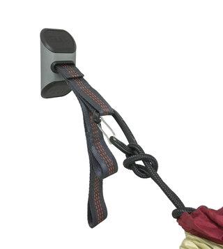 Eno Deluxe Hammock Hanging Kit Charcoal