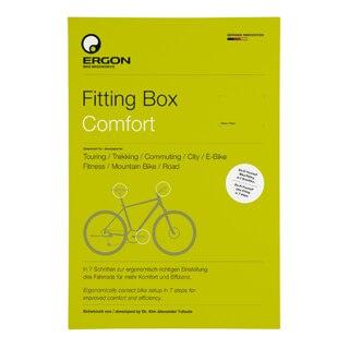 Ergon Fitting Box Comfort Tilpasning Hjelper deg med enkel sykkeltilpasning!