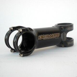 Extralite Ultrastem OC 31.8 Stem Sort, +4/-4 grader, Fra 82 gram