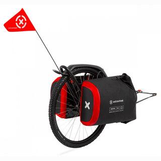 """Extrawheel Brave Premium Sykkelhenger 26"""", med 100L Drifter Premium Bagg"""