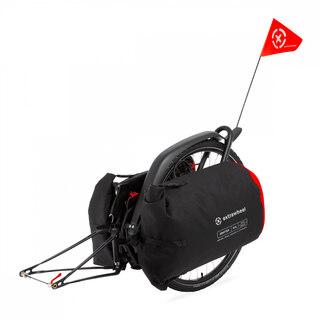 """Extrawheel Brave Premium Sykkelhenger 28"""", med 100L Drifter Premium Bagg"""