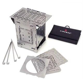 """Firebox G2 Deluxe Combo Kit Perfekt för resa, 5"""", 1207g"""