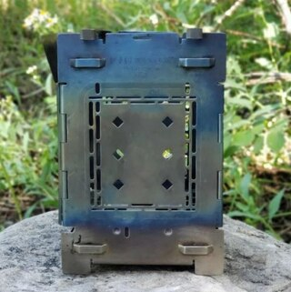 "Firebox Titan G2 Vedspis Perfekt för resa, 5"", 496g"