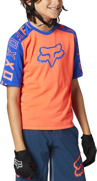 Fox Junior Ranger Drirelease Sykkeltrøye Korte ermer, fukttransporterende!