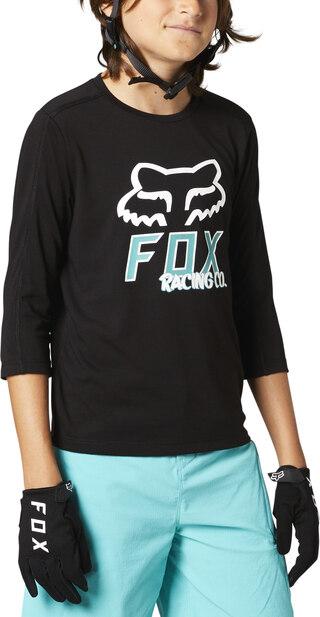 Fox Ranger DR 3/4 Junior Sykkeltrøye Fukttransporterende, høy komfort!