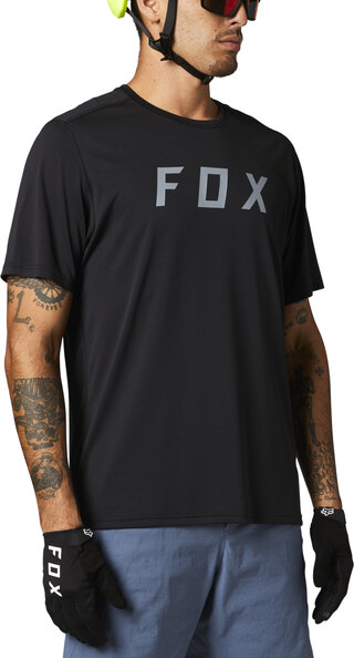 Fox Ranger Kort Trøye Sort, Str. XL