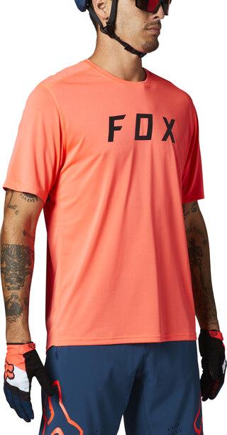 Fox Ranger Kort Trøye Oransje, Str. M