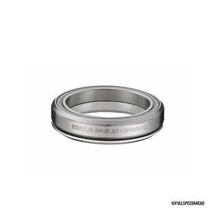 """FSA Premium Orbit Low 1-1/8"""" Styrelager Sort, 1-1/8"""", For 45mm Styrelager"""