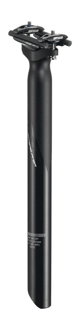 FSA Afterburner SB0 Setepinne Sort, Alu, 27,2 mm, 400 mm, 228 g