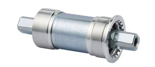 FSA Power Pro JIS Kranklager Sølv, Firkantaksling, 68x127.5 mm, 256 g