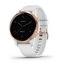 Garmin Vívoactive 4s GPS Aktivitetsmåler White with Rose-gold Hardware