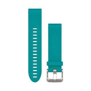 Garmin QuickFit 20 Silikon Klockarmband Turkos silikon