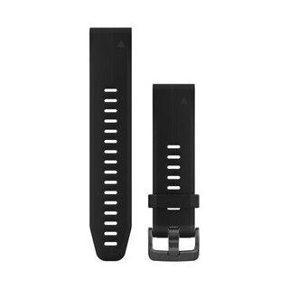 Garmin QuickFit 20 Silikon Klockarmband Sort