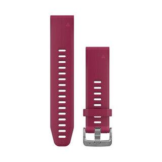 Garmin QuickFit 20 Silikon Klockarmband Kirsebærrød