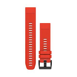 Garmin QuickFit 22 Silikon Klokkerem Rød