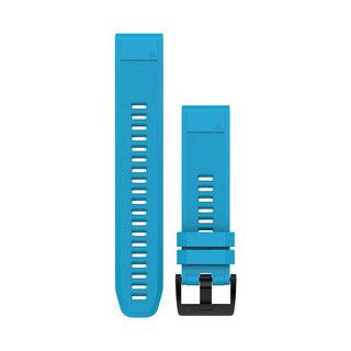 Garmin QuikFit 22 Silikon Klokkerem Himmelblått