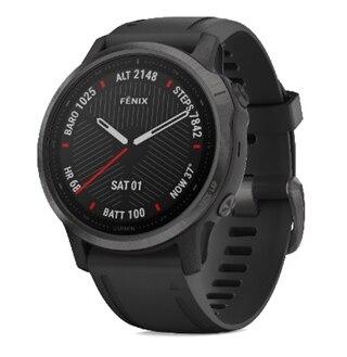 Garmin Fenix 6S Sapphire GPS-Klocka Svart, Svart reim