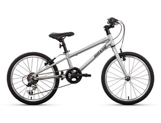 Gavia Ultimate Light 20'' Barnesykkel Sølv, Lett alu ramme, 4-7 år, 8.8 Kg