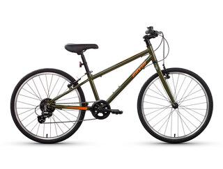Gavia Ultimate Light 24'' Barnesykkel Grønn, Lett alu ramme, 8-12 år, 10,2 Kg