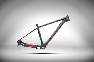 Gavia Ultimate 650B Ramme Sort/Rød, Carbonfiber, 650B, 1145 gram