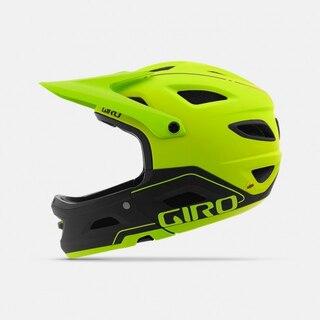 Giro Switchblade MIPS Fullhjelm Lime/Sort, Str. S