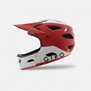 Giro Switchblade MIPS Fullhjelm Rød/Hvit, Str. L