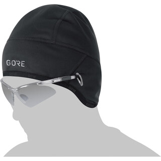 Gore Thermo Windstopper Hjelmlue Sort, Varm og ekstrem elastisk!