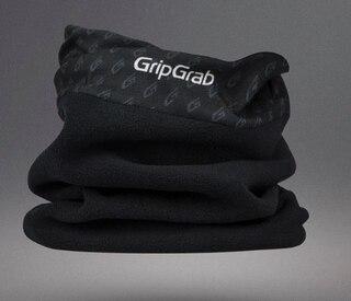 GripGrab MultiTube Fleece Hals Sort, Hals, Ørevarmer, Maske