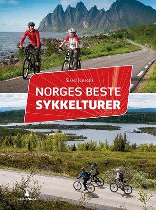 Norges Bästa Cykelturer 272 sider, 45 turer, Innbundet