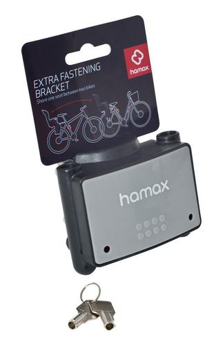 Hamax Ekstra Festebrakett Låsbar, 28-40mm