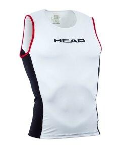HEAD Tri Top Singlet Vit, Maximal komfort!