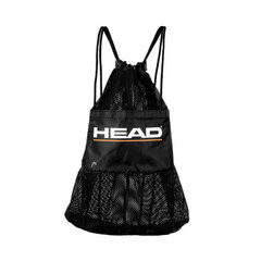 Head Mesh Bag Svart med lomme