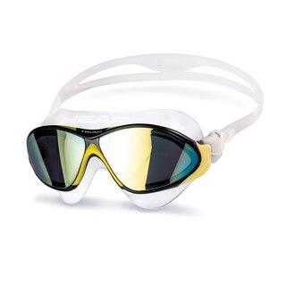 HEAD Horizon Svømmebrille Sort/Gul, Genialt i tøft farvann!
